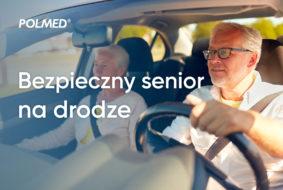 Bezpieczny senior na drodze. Bezpłatne badania kierowców - seniorów.